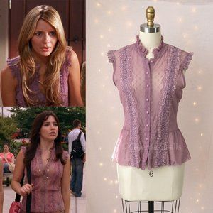 Y2K ASO Marissa in The OC and Brooke in OTH Blouse